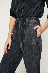 Mineral Washed Jumpsuit