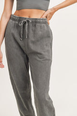 Mineral Washed Joggers