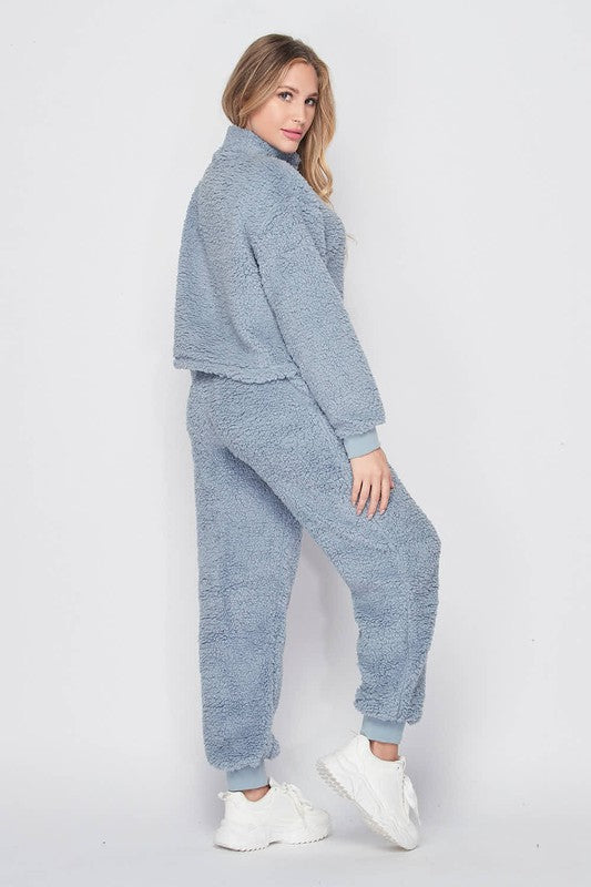 Teddy Bear Pullover & Jogger Pants Set