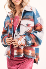 Rio Patterned Jacket