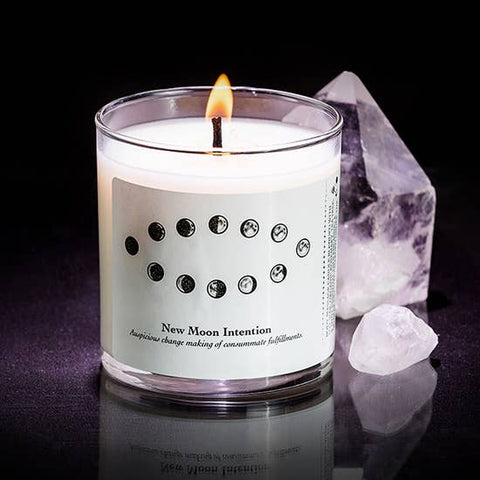 New Moon Candle