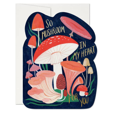 So Mushroom Greeting Card
