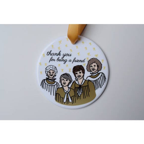 Golden Girls Ornament