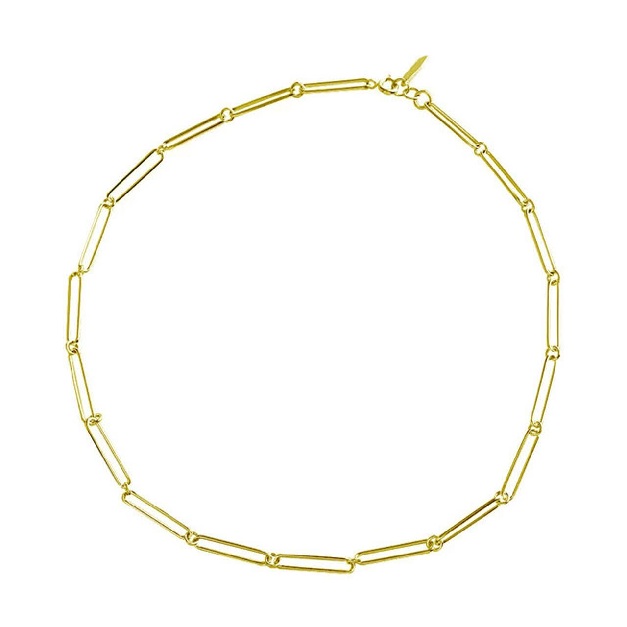 Fernweh Long Link Chain Choker Necklace