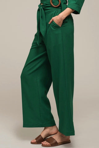 Moon River Waist Tie Pants