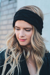 Cable Knit Headband