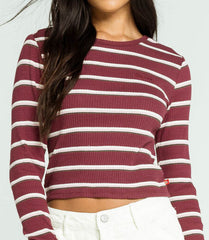 Dickies Girl Striped Rib Long Sleeve