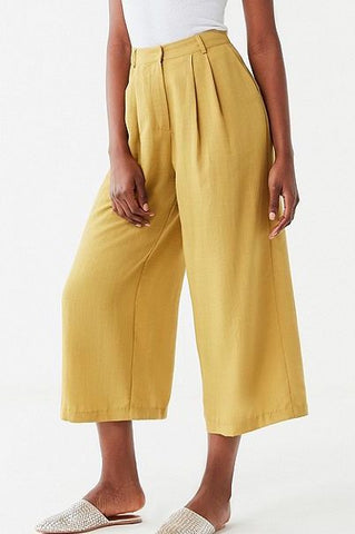 J.O.A. Pleated Wide Leg Pants