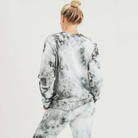 Cloud Tie Dye Sweatshirt