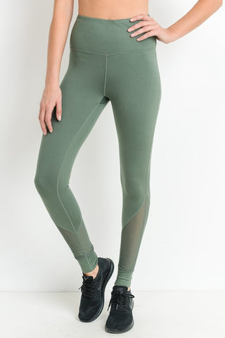 Sage Mesh Leggings