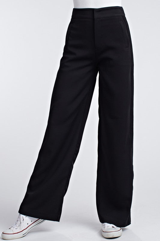 Honey Punch Twill Dress Pants