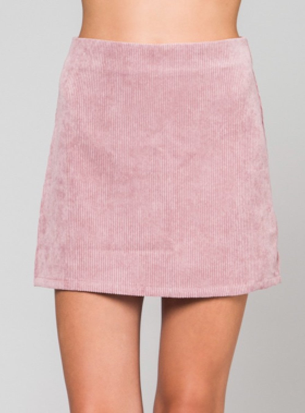 Wild Honey Corduroy Mini Skirt