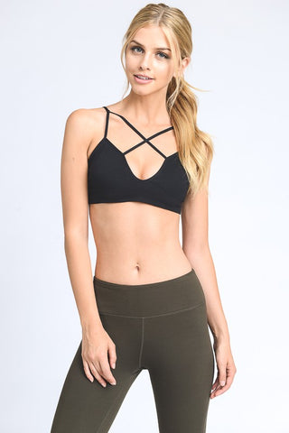 Cross Front Bralette