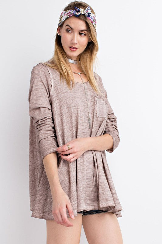 Long Sleeve Tunic Shirt
