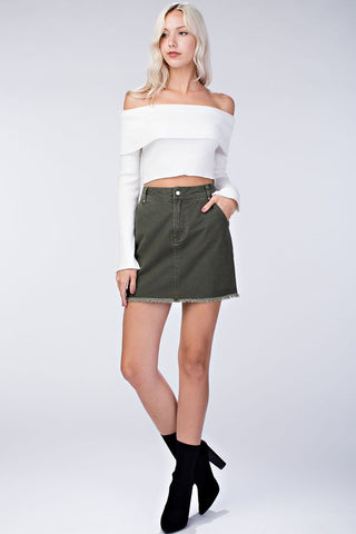 Honey Punch Mini Skirt