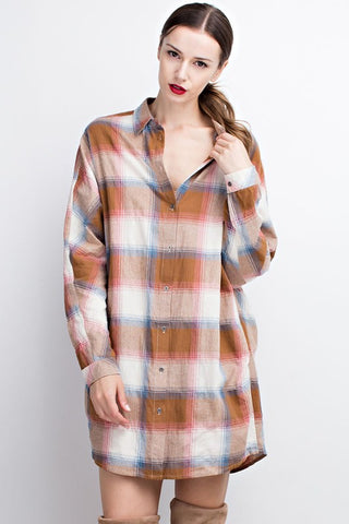 Desert Plaid Tunic