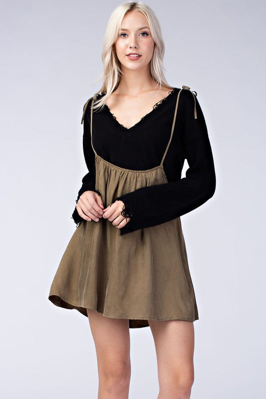 Honey Punch Tabitha Jumper Dress