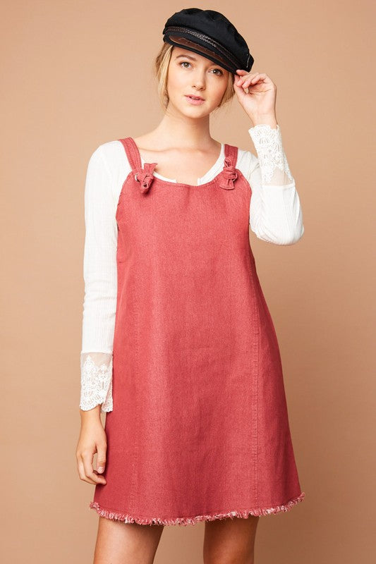 Bonnie Overall Dress