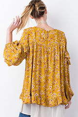 Wheat Field Blouse
