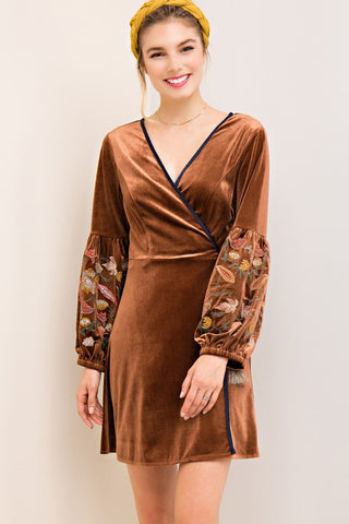 Dolce Velvet Wrap Dress