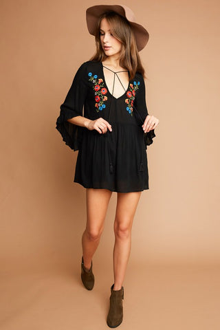 Nina Embroidered Tunic