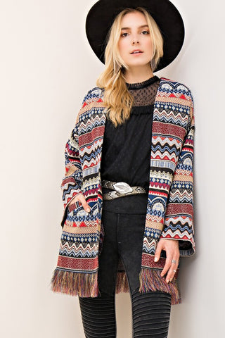 Joan Open Cardigan