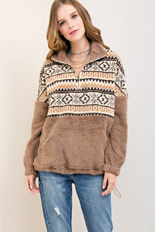 Cascade Fleece Sweater
