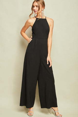 High Neck Jumpsuit