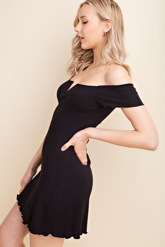 Wild Honey Off Shoulder Dress