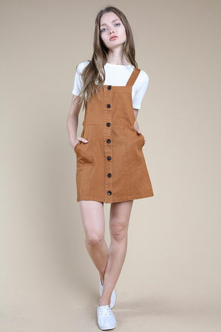 Honey Belle Pinafore Skater Dress