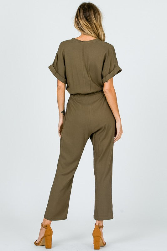 En Merci Safari Jumpsuit