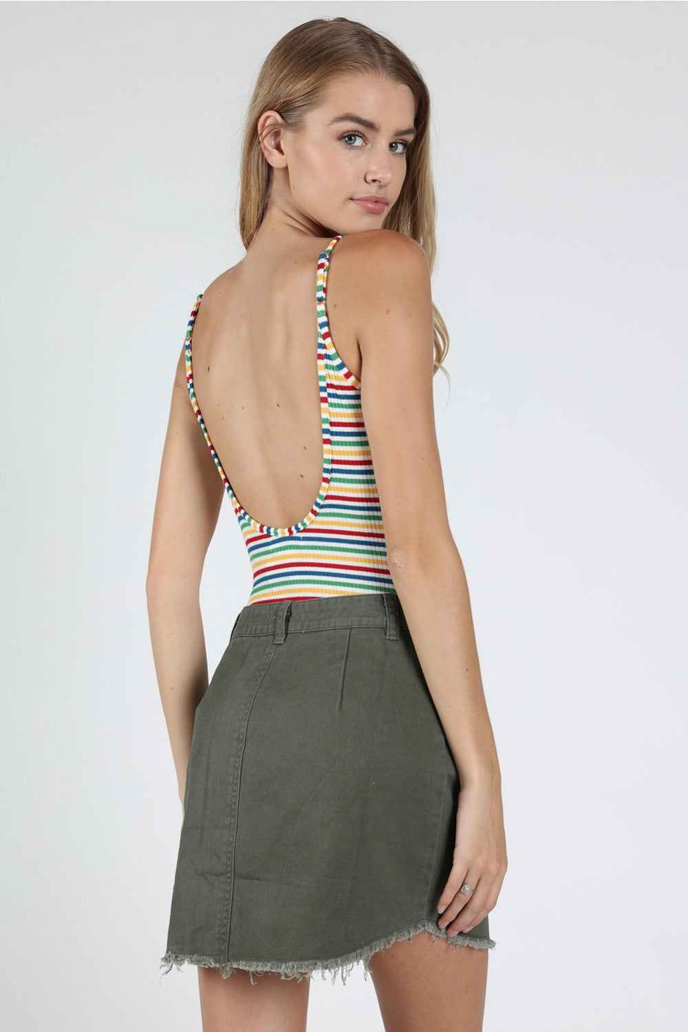 Wild Honey Rainbow Bodysuit