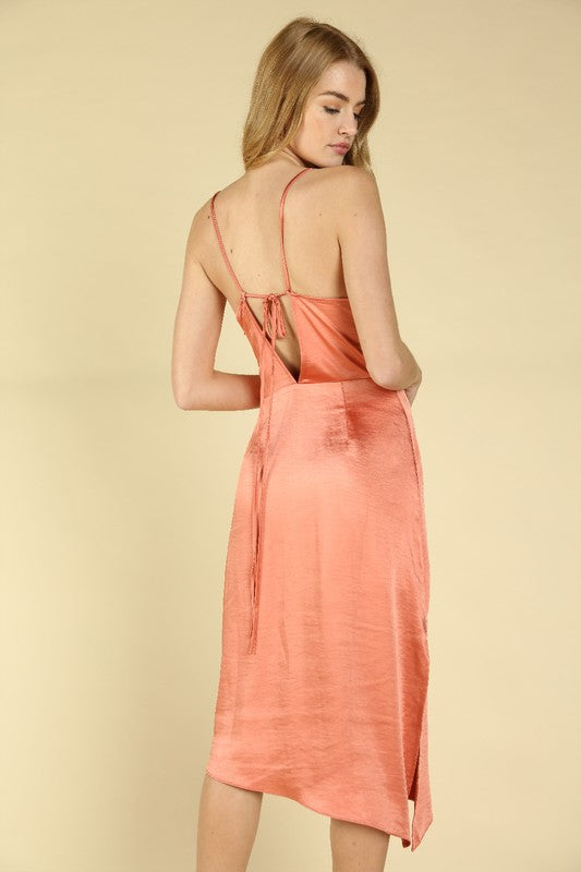 Wild Honey Satin Dress
