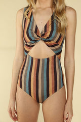 Wild Honey Striped Bodysuit