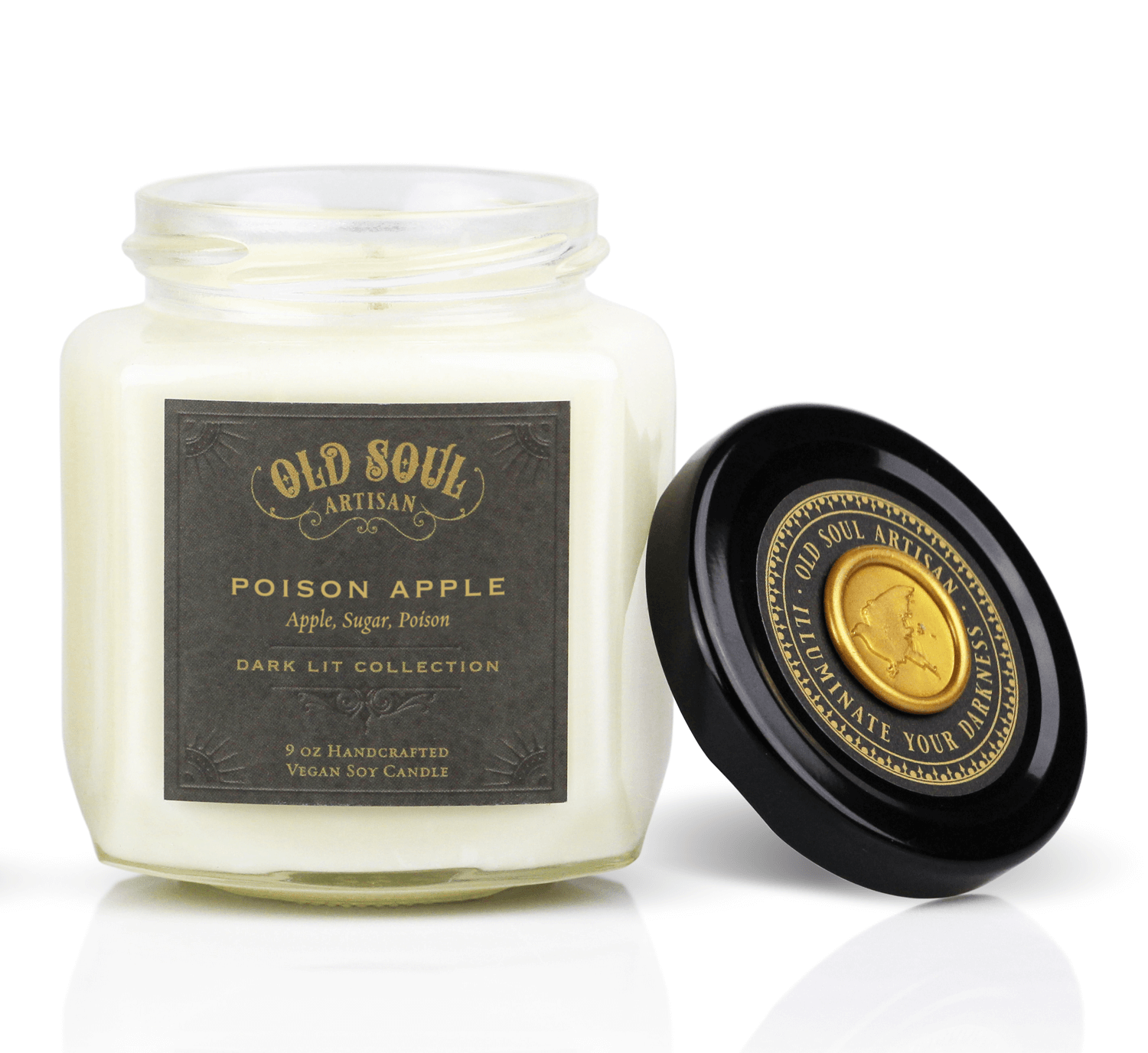 Poison Apple Soy Candle (apple, sugar)
