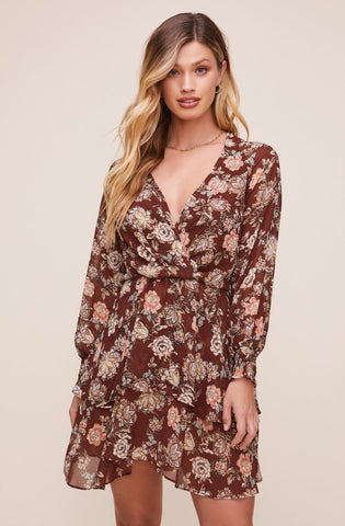 ASTR the Label Scarlet Floral Dress