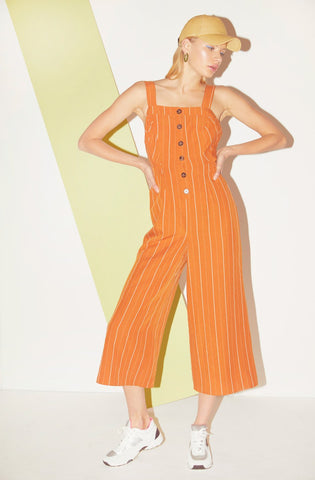 ASTR the Label Baseline Jumpsuit