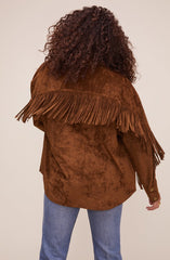ASTR the Label Etta Fringe Jacket