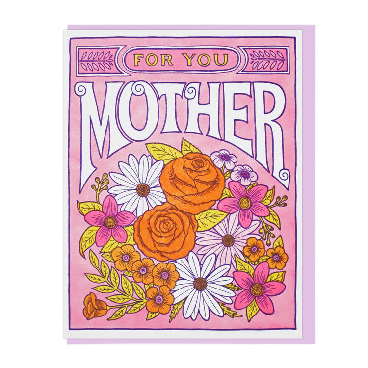 Flowers for Mother Greeting Card
