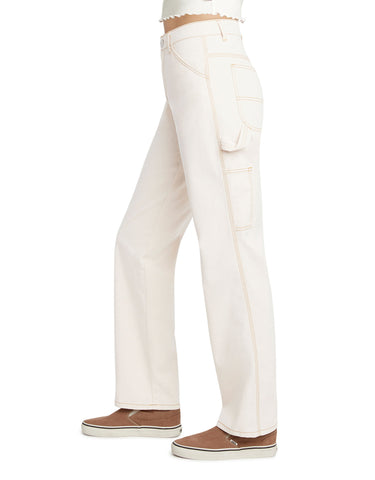 Dickies Girl Relaxed Fit Carpenter Pants, Natural