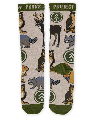 Parks Project Critter Socks