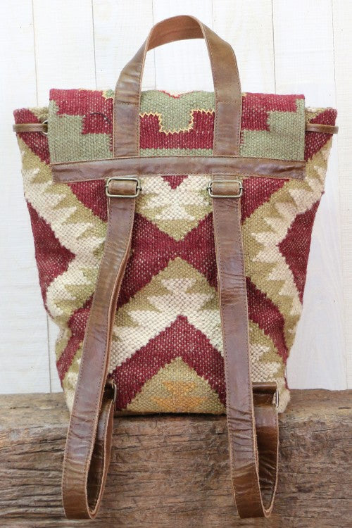 Love Stitch Ikat Backpack