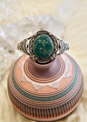 Green Turquoise Cuff