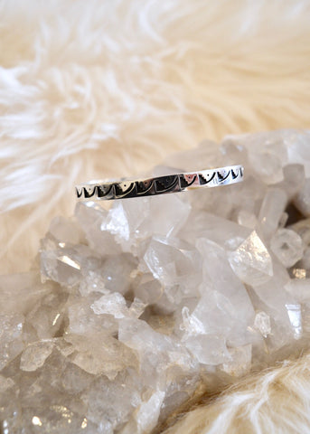 Engraved Sterling Bracelet