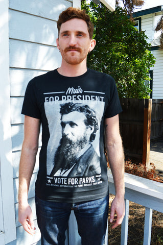 Parks Project John Muir T-Shirt