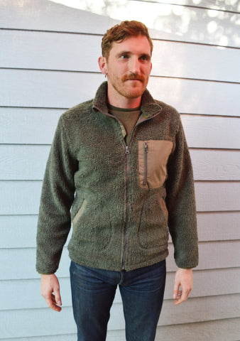 Woolrich Glacier View Fleece Jacket