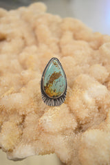 Miranda Paul Turquoise Shield Ring