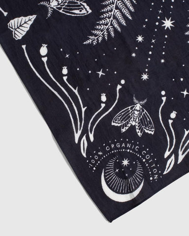 United By Blue Moth & Moon Bandana