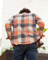 United By Blue Red Clay Men's Responsible Flannel