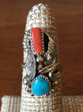 Navajo Floral 'Bug' Ring